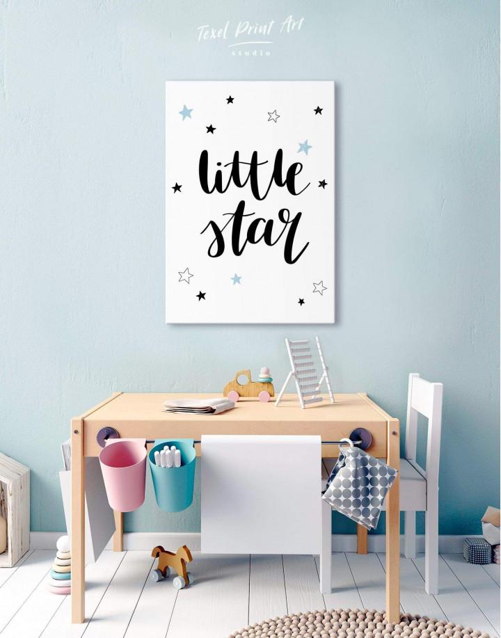 Little Star Nursery Canvas Wall Art