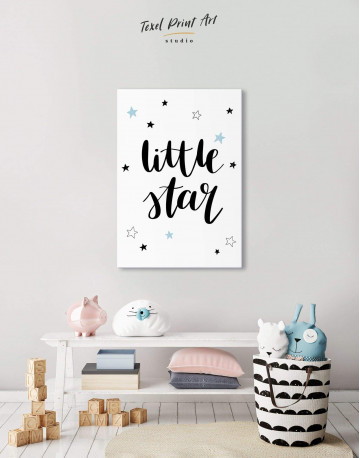 Little Star Nursery Canvas Wall Art - image 5