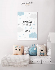Twinkle Twinkle Little Star Canvas Wall Art - Image 4
