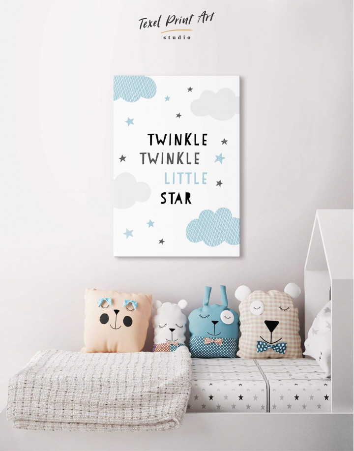 Twinkle Twinkle Little Star Canvas Wall Art - Image 4