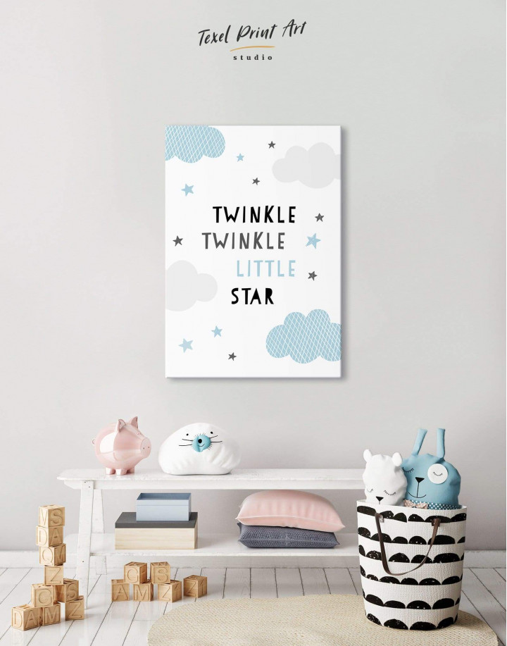 Twinkle Twinkle Little Star Canvas Wall Art - Image 5