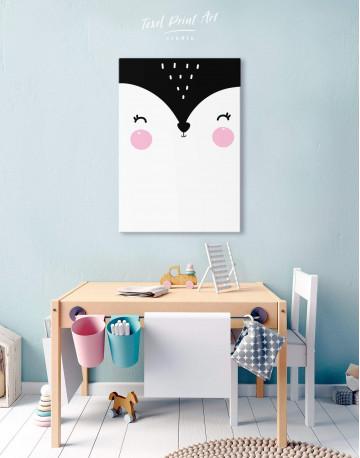 Fox Nursery Animal Canvas Wall Art - image 5