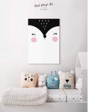 Fox Nursery Animal Canvas Wall Art - Image 4