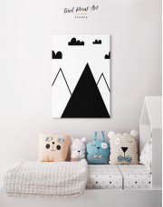 Mountain Nursery Canvas Wall Art - Image 3