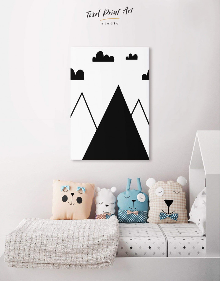 Mountain Nursery Canvas Wall Art - Image 3