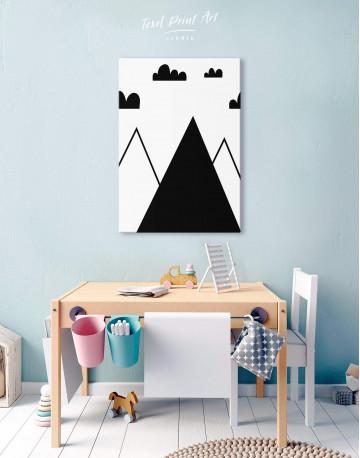 Mountain Nursery Canvas Wall Art