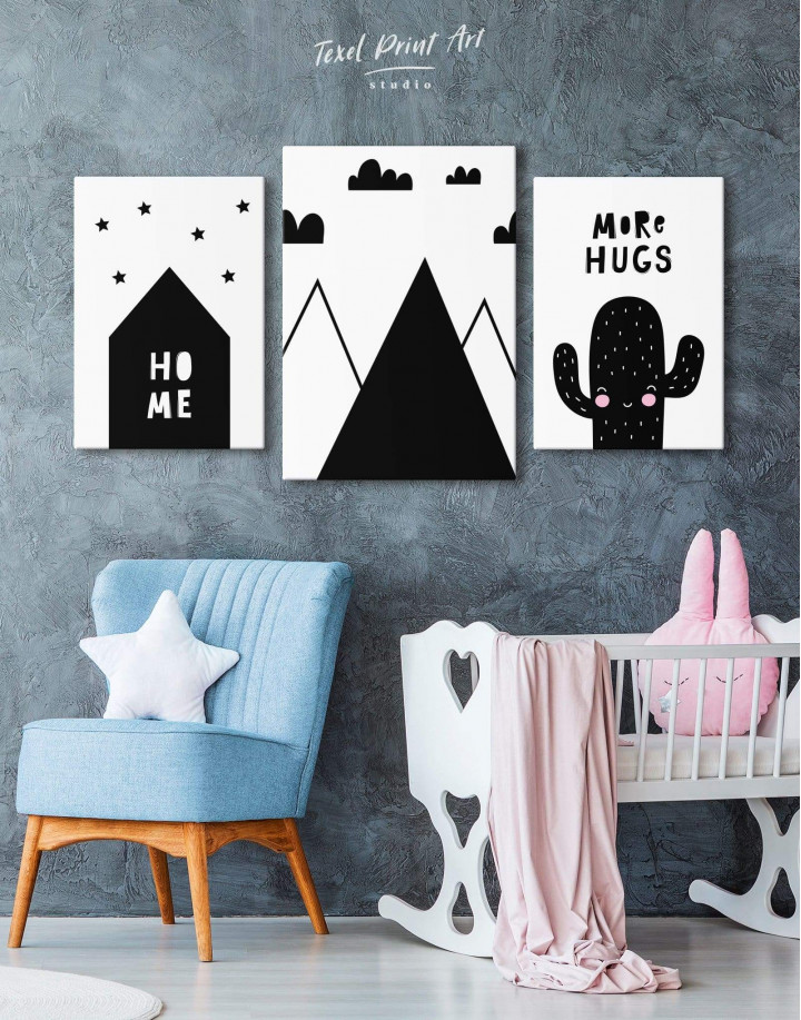 Mountain Nursery Canvas Wall Art - Image 4