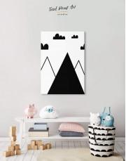 Mountain Nursery Canvas Wall Art - Image 2