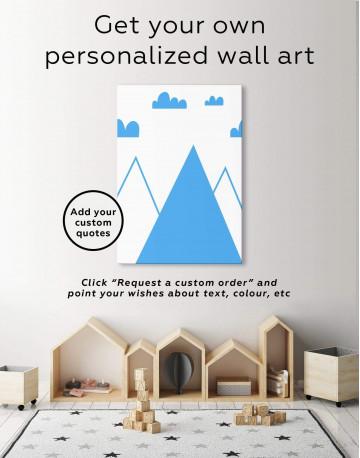 Mountain Nursery Canvas Wall Art - image 6