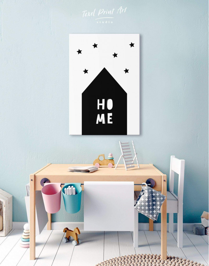 Home Childrens Nursery Canvas Wall Art - Image 5
