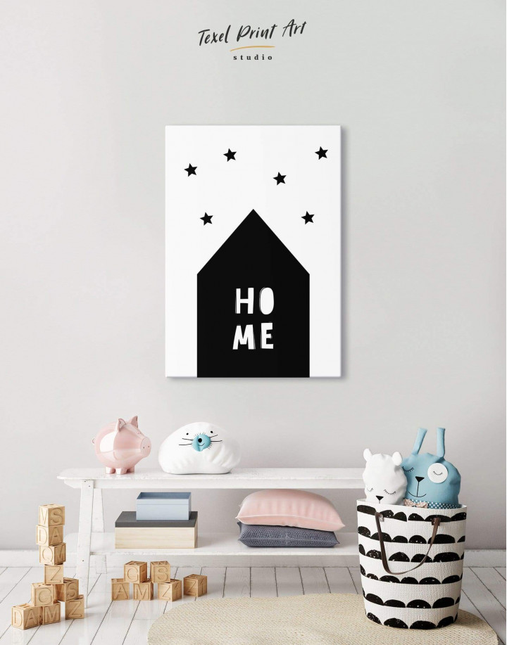 Home Childrens Nursery Canvas Wall Art - Image 4