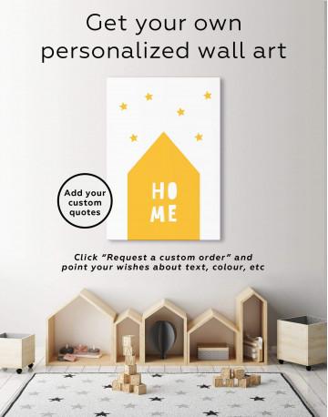 Home Childrens Nursery Canvas Wall Art - image 1