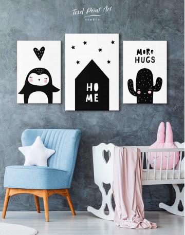 Home Childrens Nursery Canvas Wall Art - image 3