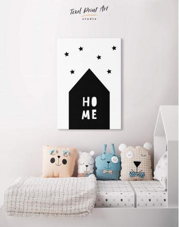 Home Childrens Nursery Canvas Wall Art