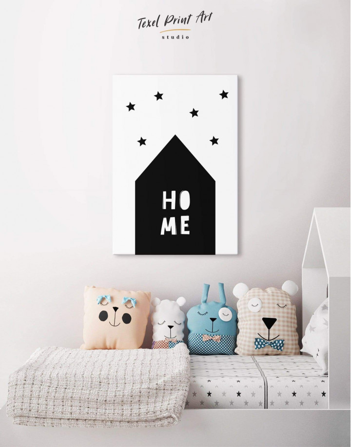 Home Childrens Nursery Canvas Wall Art - Image 0