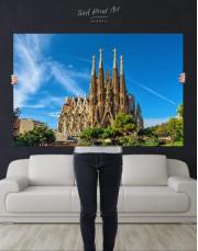 Sagrada Familia Barcelona Canvas Wall Art - Image 4