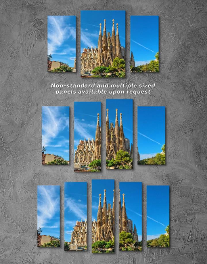 Sagrada Familia Barcelona Canvas Wall Art - Image 2