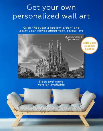 Sagrada Familia Barcelona Canvas Wall Art - image 1