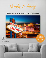 Welcome to Las Vegas Canvas Wall Art