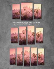 LA Skyline Canvas Wall Art - Image 4
