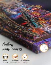 Vegas Skyline Canvas Wall Art - Image 5
