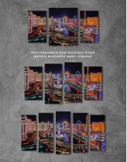 Vegas Skyline Canvas Wall Art - Image 2