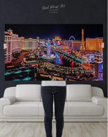 Vegas Skyline Canvas Wall Art - image 4
