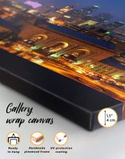Kansas City Skyline Canvas Wall Art - Image 5