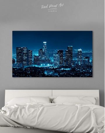 Los Angeles Skyline Canvas Wall Art