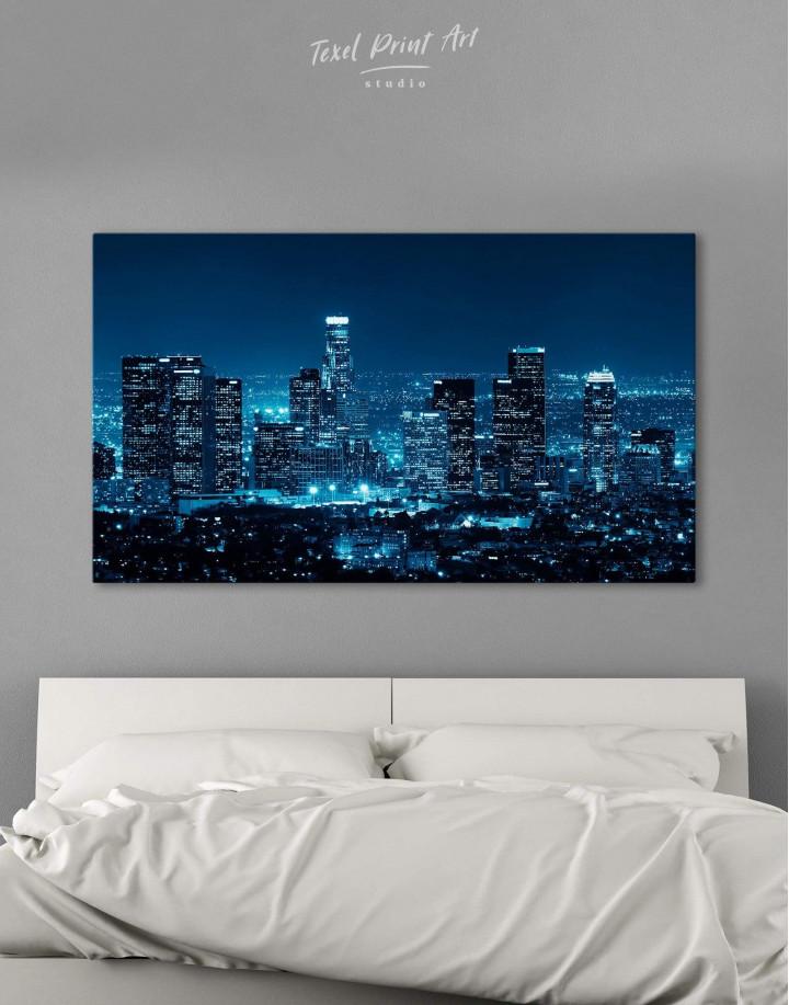 Los Angeles Skyline Canvas Wall Art - Image 0
