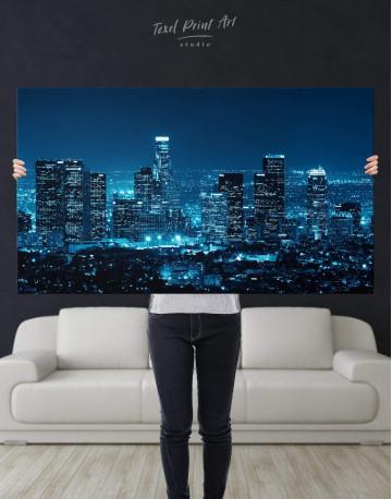 Los Angeles Skyline Canvas Wall Art - image 4