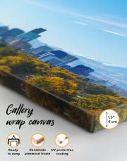 Panoramic Denver Skyline Canvas Wall Art - Image 2