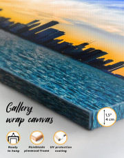 Panoramic Chicago Skyline Canvas Wall Art - Image 3