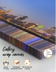 Panoramic Cincinnati Scenic View Canvas Wall Art - Image 4
