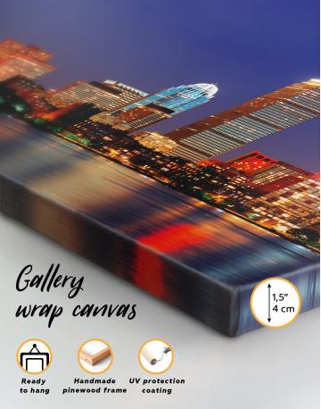 Panoramic San Francisco Skyline Canvas Wall Art - image 4