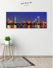 Panoramic San Francisco Skyline Canvas Wall Art - Image 3