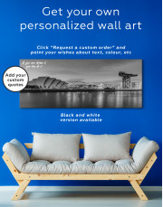 Panoramic SSE Hydro Glasgow Canvas Wall Art - Image 2