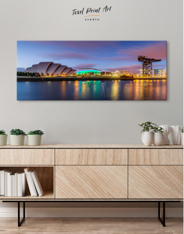 Panoramic SSE Hydro Glasgow Canvas Wall Art - image 3
