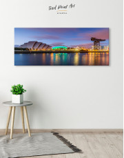 Panoramic SSE Hydro Glasgow Canvas Wall Art - Image 4
