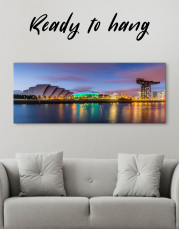 Panoramic SSE Hydro Glasgow Canvas Wall Art