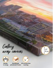 Panoramic Columbus Skyline Canvas Wall Art - Image 1