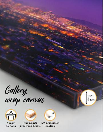 Skyline Phoenix Arizona Canvas Wall Art - image 9