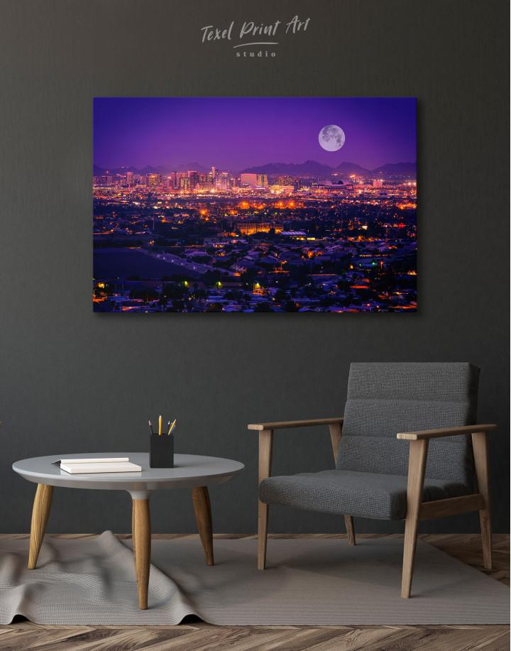 Skyline Phoenix Arizona Canvas Wall Art - Image 5
