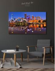 Cityscape Melbourne Australia Canvas Wall Art - Image 5
