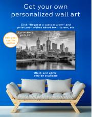 Fawkner Park Melbourne Skyline Canvas Wall Art - Image 7