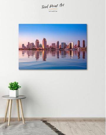 San Diego Skyline Canvas Wall Art - image 5