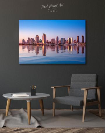 San Diego Skyline Canvas Wall Art - image 7