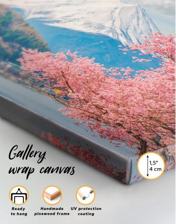 Fuji Mountain Landscape View Canvas Wall Art - image 7