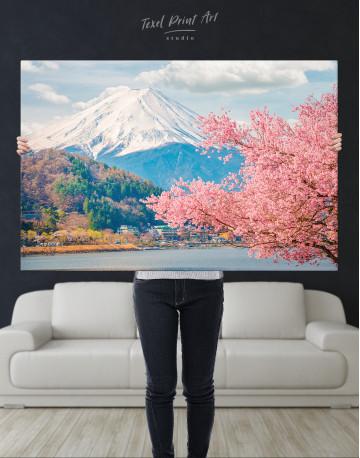 Fuji Mountain Landscape View Canvas Wall Art - image 8