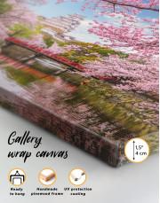 Japan Temple Landscape View Canvas Wall Art - Image 4